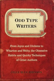 Odd type writers book cover image