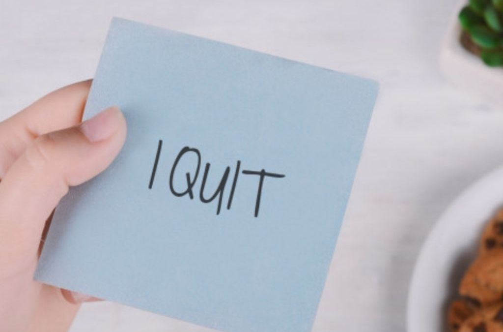 How to keep productive by quitting