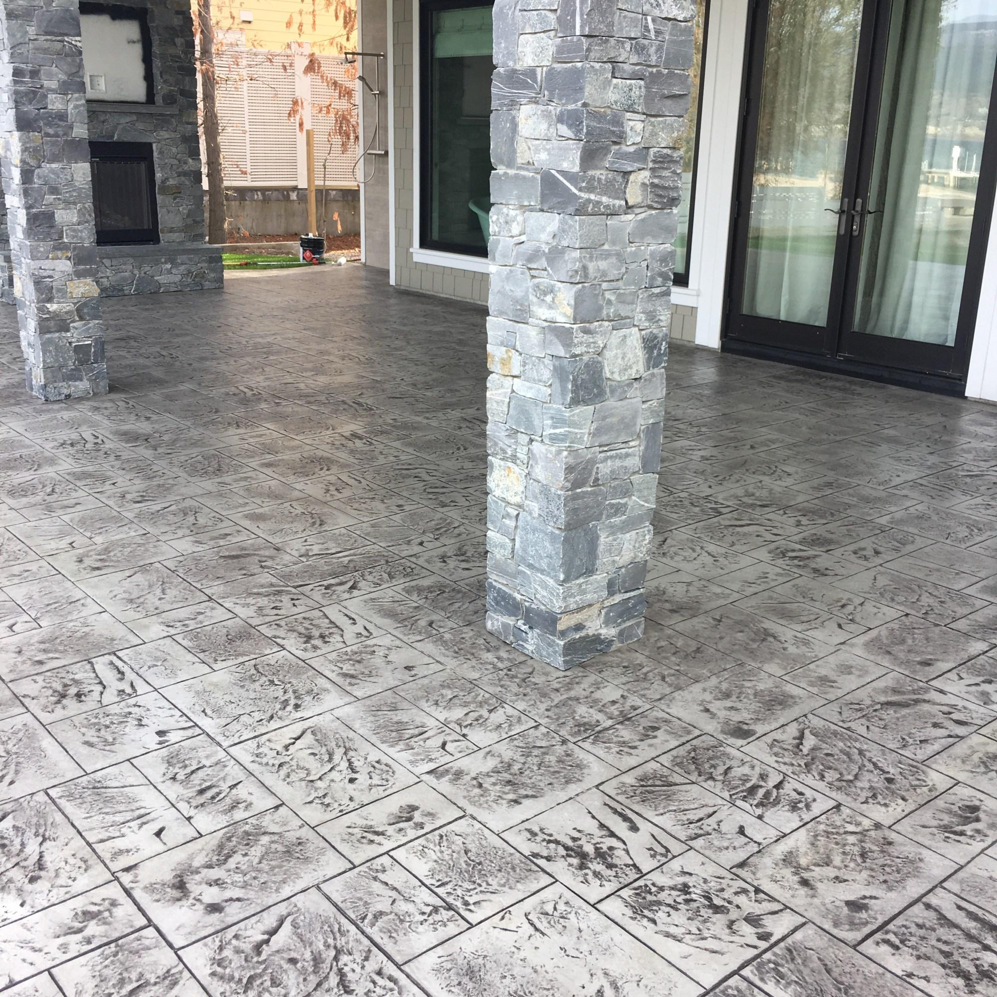 Kamloops Stamped Concrete