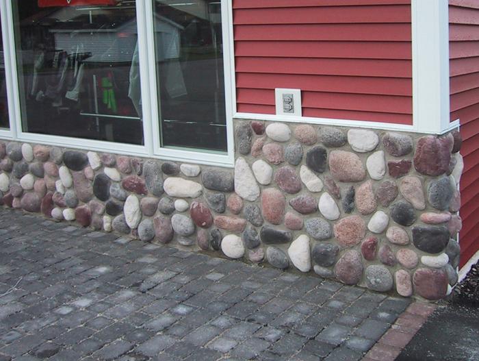 Wisconsin River Rock Stone Veneer  InteriorExterior Walls  ProLine Stone