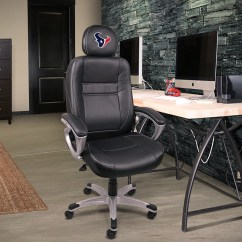 Houston Office Chairs Chair Cover Hire Carlisle Texans Executive Proline Tailgating