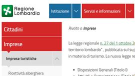 Video tutorial di regione Lombardia per l'avvio della CAV non imprenditoriale