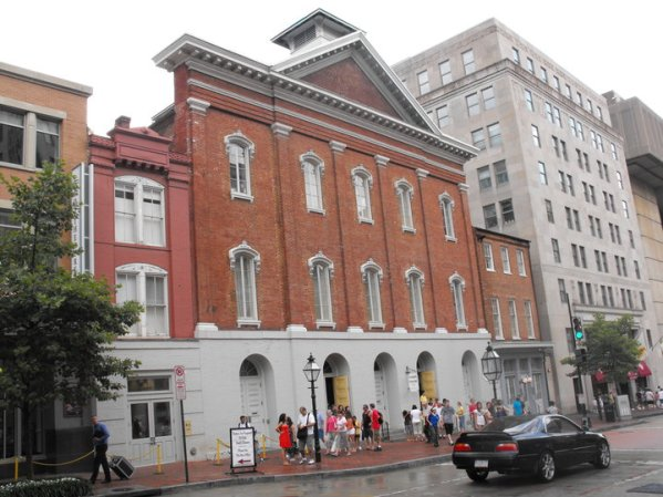 Robert A Mosher's photo of the Ford's Theatre, modern day