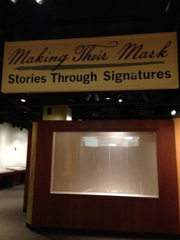 You can be one of the first to see what will be this exhibit case!