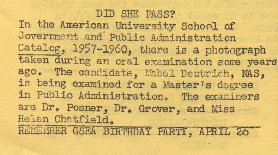 Archiviews, April 1958