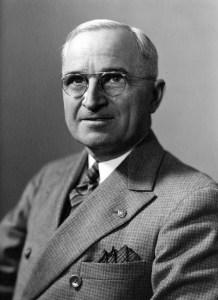 Harry S. Truman, 1945. (National Archives Identifier 7865606)