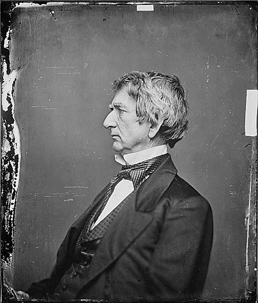 William H. Seward, Secretary of State ca. 1860-1865. (National Archives Identifier 528347)