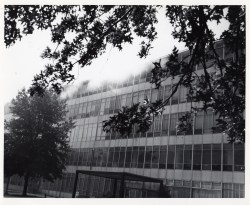 Photograph of the 1973 Fire at the Military Personnel Records Center in St. Louis, Missouri, July 12, 1973. (National Archives Identifier 7386461)