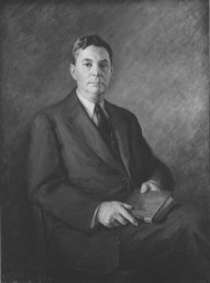 Robert Digges Wimberly Connor, First Archivist of the United States, October 21,1952. (National Archives Identifier 12167705)