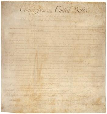 Bill of Rights, 1791post treatment 00306_2003_001