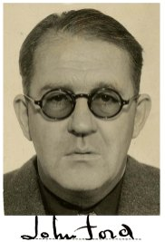 Photo of John Ford from his Official Military Personnel File, n.d. (National Archives Identifier 40914175)