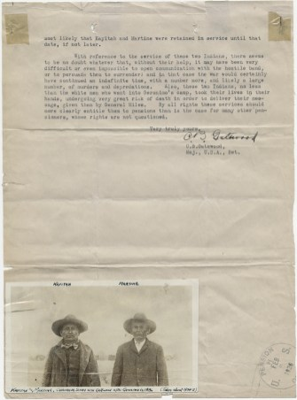 Correspondence, Gatewood, C.B., Jan. 30, 1926. (Records of the Veterans Administration, National Archives at St. Louis)