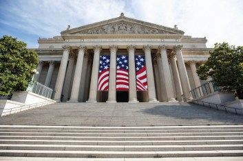 The National Archives Building in Washington, DC. (Photo by Jeff Reed, National Archives)