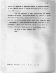FDR's D-Day Prayer, June 6, 1944 (National Archives Identifier 197375)