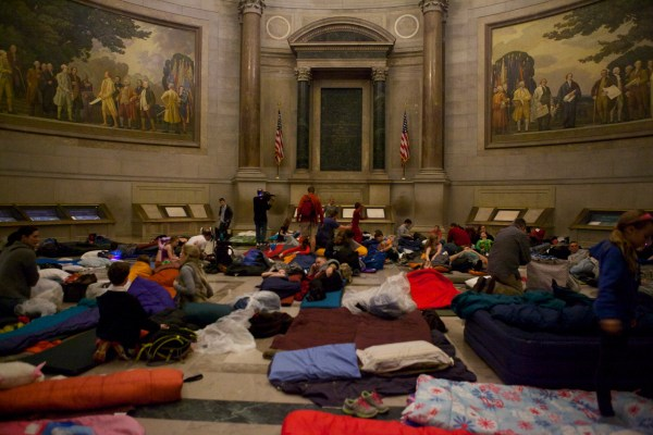 Two Sleepover Opportunities National Archives Pieces Of History