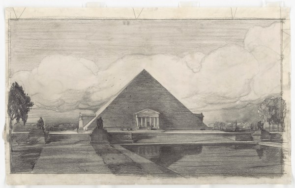 John Russell Pope Lincoln Memorial Design Pieces Of