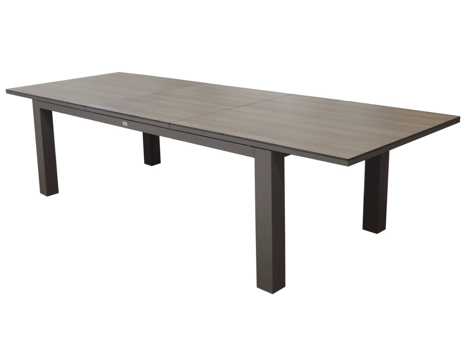 Table De Jardin Aluminium Oceo | Salon Table De Jardin Extensible 10 ...