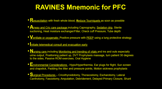 RAVINES Mnemonic: A Practical Approach to Care after SMARCH