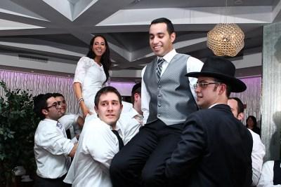 Jewish wedding photographer new york