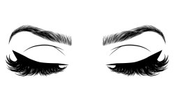 different materials for eyelashes