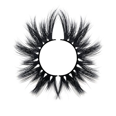 A pair of eyelashes which materials of False Eyelashes are animal hairs