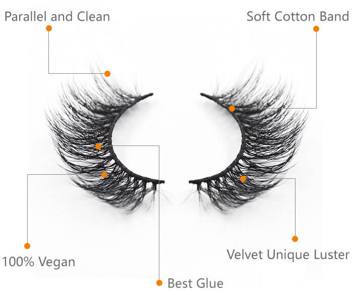 best vegan eyelashes extension
