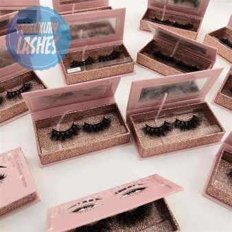 false lashes business--customize lashes boxes