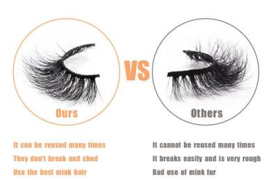 The  product difference between bad and  good  lash vendors