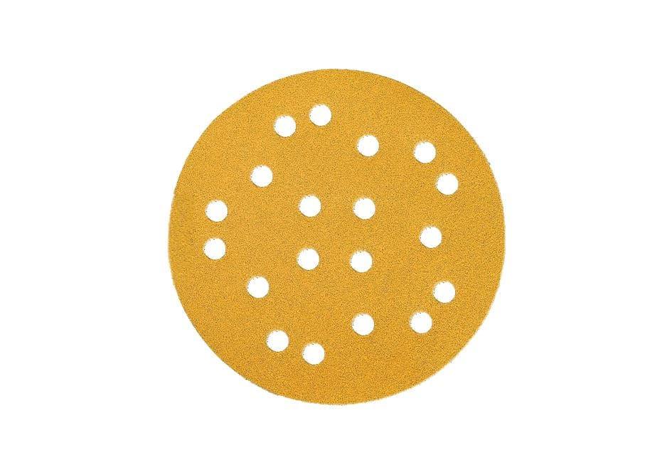 Mirka gold schleifscheiben, 19-fach gelocht, Ø125mm