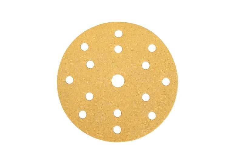 Mirka gold schleifscheiben, 15-fach gelocht, Ø150mm