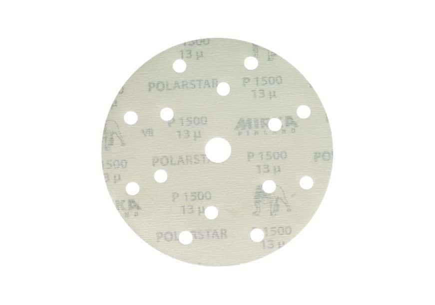Mirka Polarstar Klett, 15-fach gelocht, Ø150mm