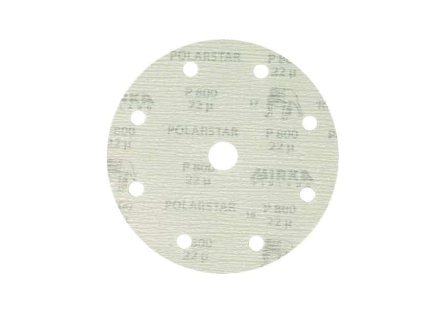 Mirka Polarstar Klett, 9-fach gelocht, Ø150mm