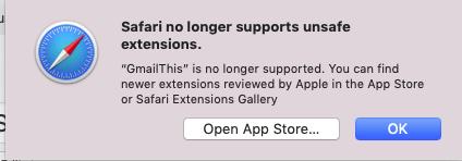 Safari 12 + Mojave : breaks useful extensions in Safari | Pro Mac NYC