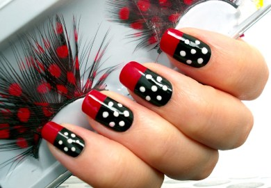 Nail Art Dot Designs