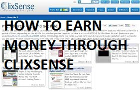 How to earn money through clixsense