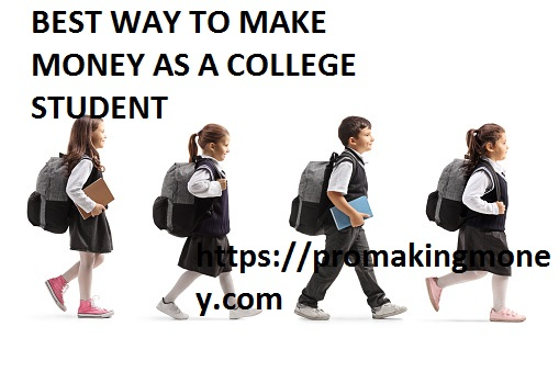 Best Way To Make Money As A College Student