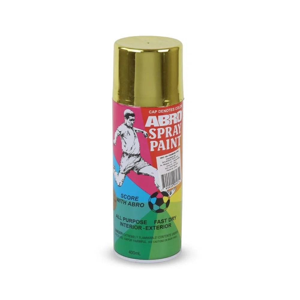 Pintura Spray Metlico Premium Oro 18k  Promart