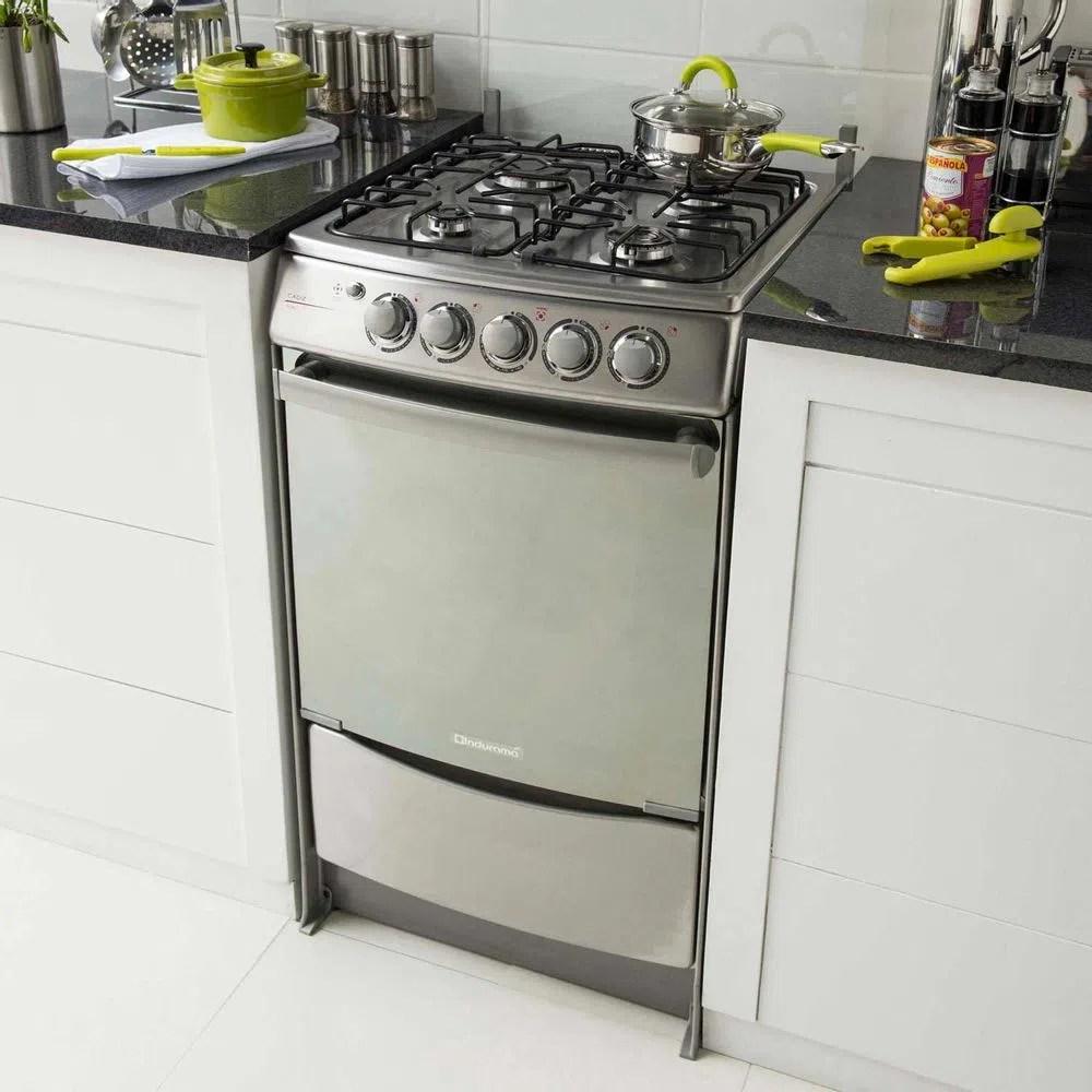 Cocina a gas Cdiz 4 hornillas  Promart