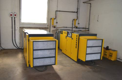 small resolution of kaeser screw compressor system second hand main picture
