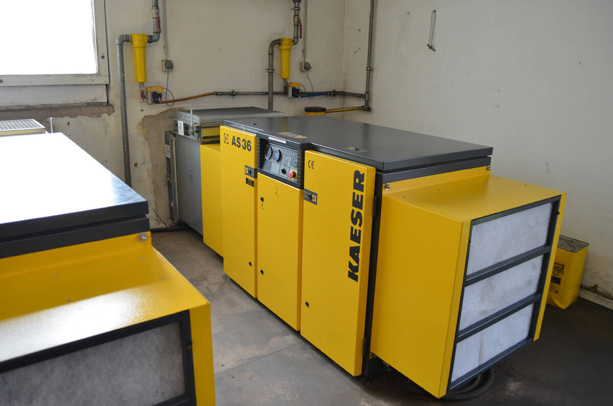 hight resolution of kaeser screw compressor system second hand 1