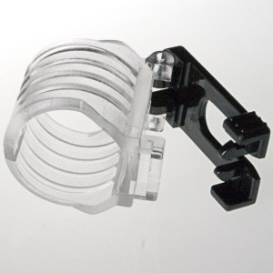 Plastic Snorkel Keeper with Quick Release
