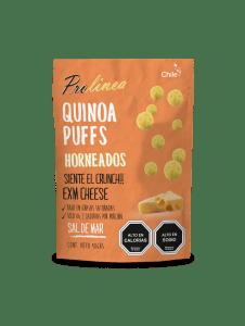 Snack de Quínoa Puff Queso Cheddar