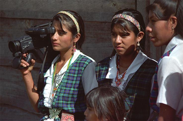 mujeres con cámara-histórica