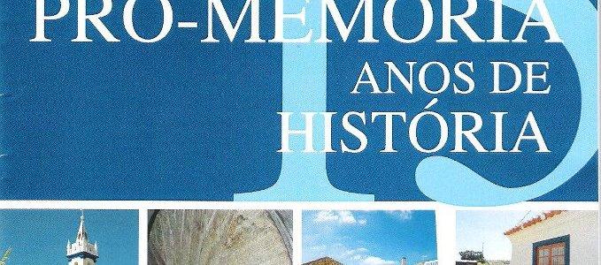 Pró-Memória – 15 Anos de História