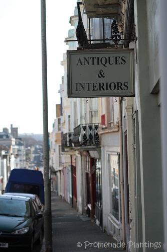 Antique shop sign