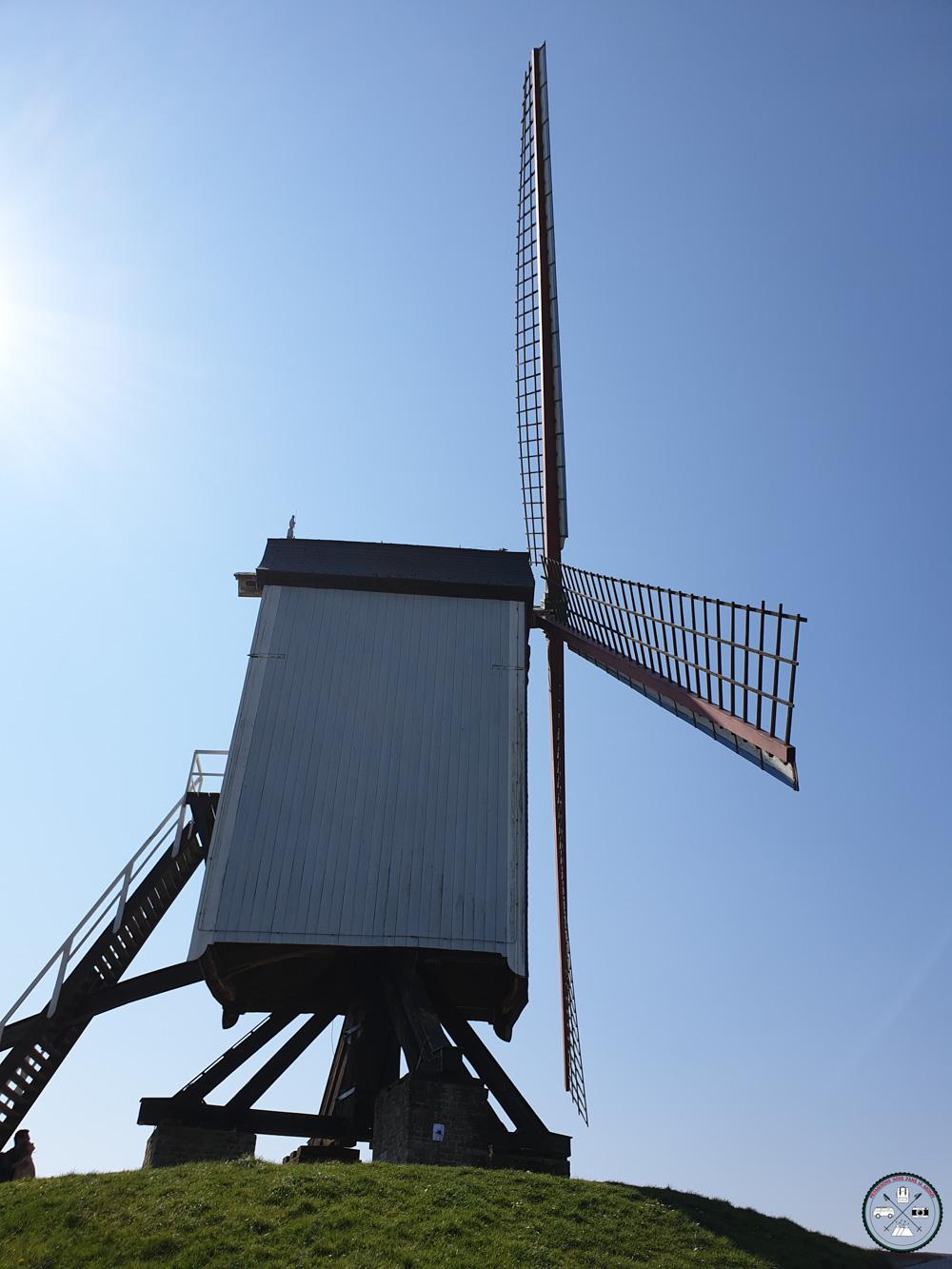 Un moulin emblématique de la ville Belge
