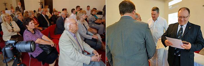 Na fotografii celkom vpravo ocenený Marián Baťala, zľava vedľa neho Stanislav Kizek