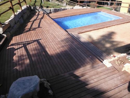 Promida tarima graons tropical exterior piscina