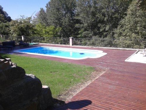 Promida tarima exterior piscina
