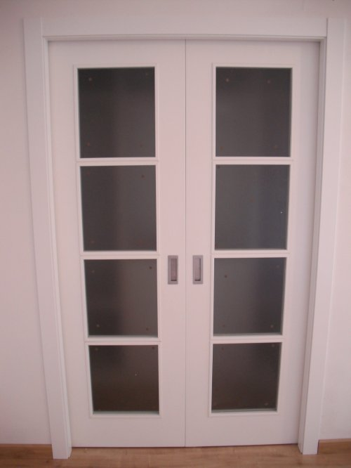 Promida doble porta corredera vestidor